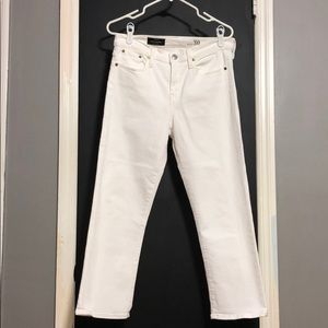 🐝SALE🐝 J Crew White Vintage Cropped Jeans